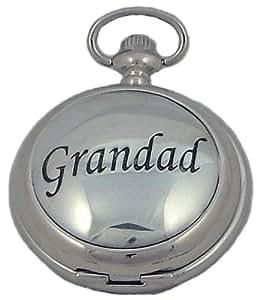 A E Williams Men's Grandad Quartz Pocket Watch 4804