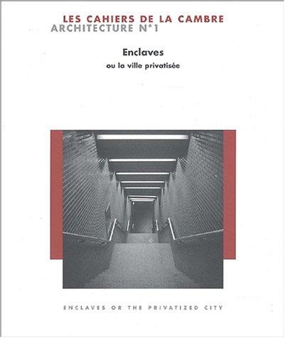 Les Cahiers de La Cambre Architecture N�...