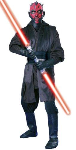 Star Wars Herren Super Deluxe Kostüm Darth Maul Größe M 48/50