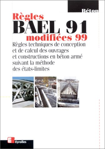 Règles Bael 91 modifiée 99