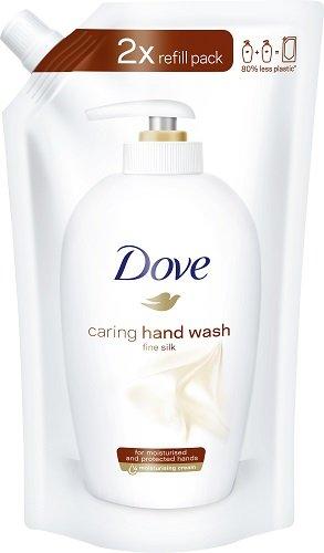 Dove - Sapone liquido setificante, ricarica, 10 pz. (10 x 500 ml)