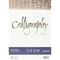 Favini Calligraphy A690314 - Papel pergamino (A4, áspero, 50 unidades)