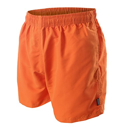 OAHOO Herren Badeshorts Burnt Orange-M