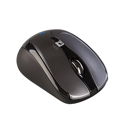 i-tec Bluetooth Wireless Maus Travel 6-Tastenmaus Wählbare Auflösung des Sensors 1000/1600 DPI 2x AAA Batterien im Lieferumfang ON/OFF-Taste ideal für Notebook Ultrabook Tablet PC, Windows Mac Linux Android Mäuse -