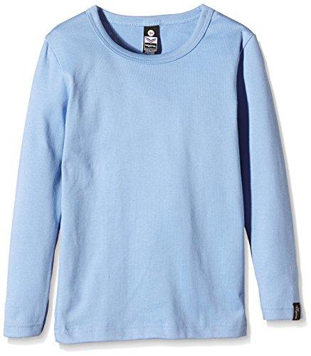 Trigema Jungen Langarm-Shirt, Chemise Garçon Bleu (horizont 042)