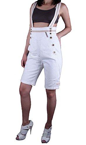 Diesel Donna Bermuda Shorts 5.N.Y.SS Crema #23 - cotone, Panna, % cotone % spandex, Donna, 26W, Crema