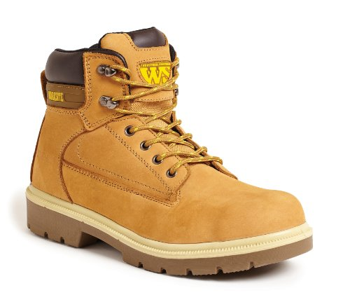 Worksite Ss613sm, Chaussures de sécurité mixte adulte Jaune - Miel