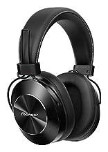 Pioneer SE-MS7BT(K) Cuffie Auricolari Bluetooth Over-Ear (microfono, audio ad alta risoluzione, NFC, riproduzione 12 ore, alto comfort, per smartphone, tablet, design in alluminio), nero