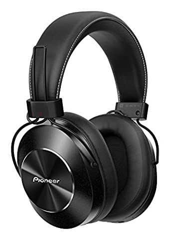 Pioneer SE-MS7BT-K Wireless Over Ear Headphone with Integrated Microphone and Controls - Black