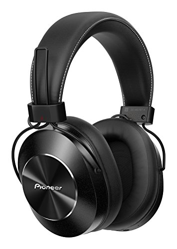 Pioneer SE-MS7BT-K - Auriculares de Tipo Diadema (Bluetooth, Hires, Power Bass, NFC), Color Negro
