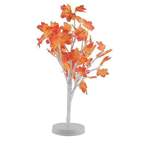 Umweltschutz und Energieeinsparung Wasserdicht Weihnachtsdekor Lichter Ahornblatt Topf Licht Blossom Desktop Bonsai Tree Light Perlen Weihnachtsschmuck (Licht Desktop-bonsai)