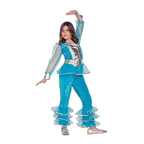 (Fyasa 706351-t02Disco Girl Kostüm, Mittel)