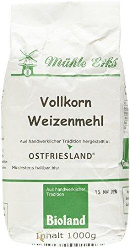 Erks Bio Vollkorn- Weizenmehl, 1 kg (Bio-vollkorn-mehl)