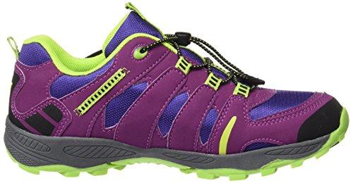 Lico  Fremont, Chaussures de trekking et randonnée fille Violett (LILA/LEMON)