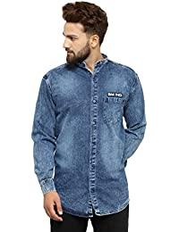 08b6fad6c Denim Men s Shirts  Buy Denim Men s Shirts online at best prices in ...