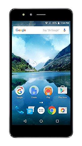 Kingstar Titans2 Three finger Sensor Slfie & Back Cover Touch Feature Smartphone in Black Colour