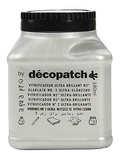 Décopatch VAUB180AO Aquapro Klarlack (ültra glänzend, 180ml)