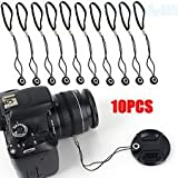 Hanumex 10Pcs Lens Cap Holder Keeper String Safty Cord DSLR Cameras