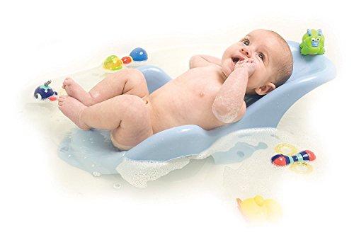 Nûby asiento para la bañera para bebés 0–6meses recién nacidos 0% sin bisfenol A Safe & forma ergonómica con tres ventosas para stabillity de drenaje Agujero para fácil secado para niños y niñas rosa rosa Talla:Nuby Bath Seat