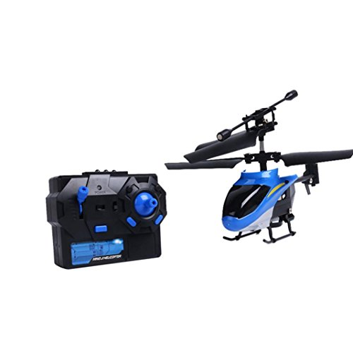 Fuibo Drone UAV, RC 2CH Mini rc Helicopter Trannie Remote Control Aircraft Micro 2 Way