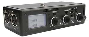 BeachTek DXA-5Da Passive Dual XLR Audio Adapter for DSLR Camcorders with Mic Jack (japan import)