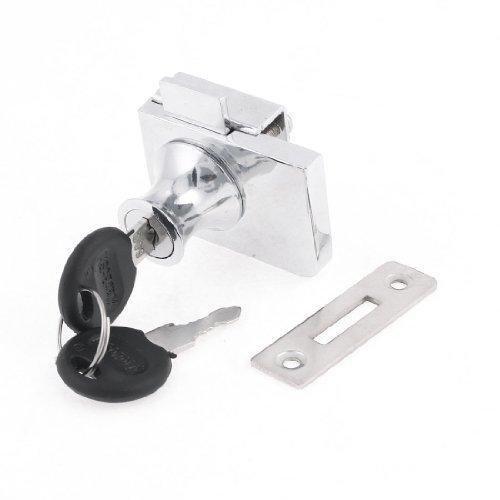 sourcingmap® Multifunktion Metallfuß Hebelschloss für 10 mm Dicke Schrank