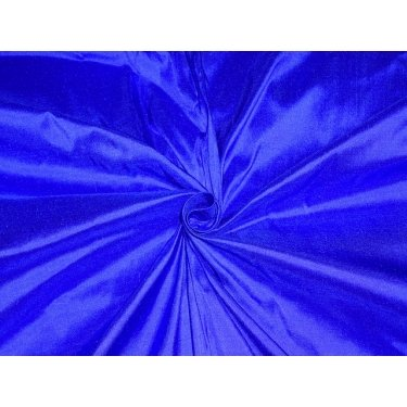 Reine Seide Dupionseide Stoff Duke Tinte Blau 137,2cm by the Yard -