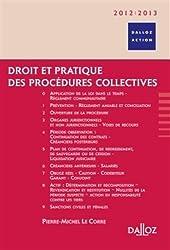 Droit et pratique des procédures collectives 2012/2013 - 6e éd.: Dalloz Action