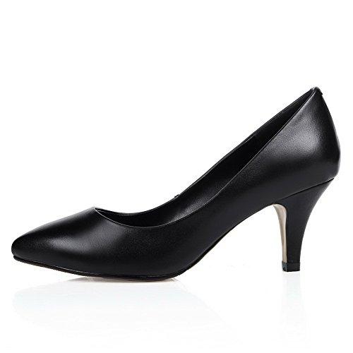 Balamasa, Chaussures À Talons Hauts Pour Femmes Blackpu ... 86e43e746475