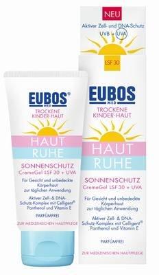 Eubos Kinder Haut Ruhe Sonnenschutz Creme Gel LSF 30+UVA, 50