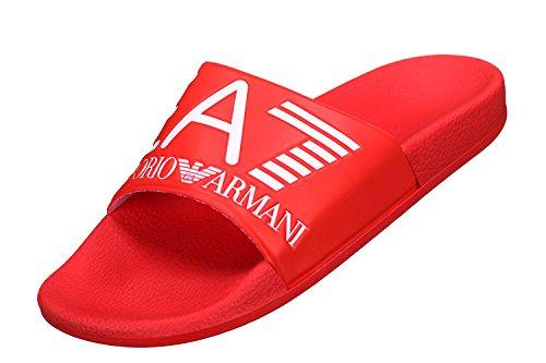 Emporio armani ciabatte hombre 46 red 905012-8p215-00074-t46