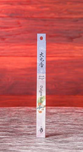 Räucherstäbchen Japan feinste Düfte Daigen KOH 1 St. ca. 24g | natürlicher Duft herb Raumduft Räucherwerk | Aromatherapie naturreine Kräuter Meditation | Esoterik Geschenke günstig kaufen -