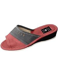 Zapatos de mujer, modelo chancla, con suela ortopédica varios colores disponibles