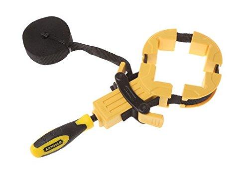 Stanley Bailey Bandzwinge, (4.5m Bandlänge, ergonomischer Griff aus Bi-Material, Metall-Kunststoff-Konstruktion) 0-83-100
