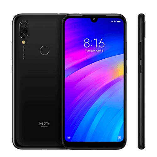 Xiaomi Redmi 7 3Go 32Go 4G Dual SIM Noire - Global Version, Smartphone (15, 9 cm (6, 26'), 720 x 1520 Pixel, 12 MP, 4000 mAh,)