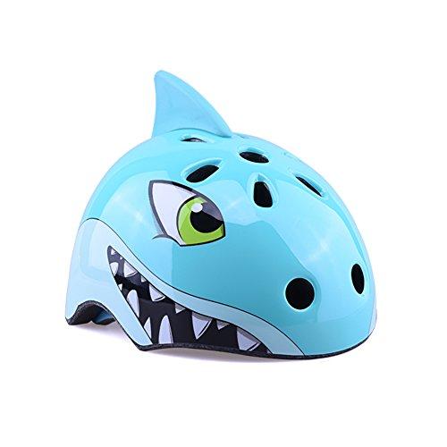 YXINY TH-006 Children Helmet PC+EPS 3D Cartoon Animals Child