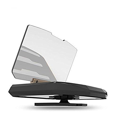 WAOBE Auto HUD Halter Halterung Universal für Handy Display GPS Navigation Bild Reflektor Head Up Display Projektor Schwarz