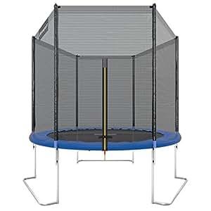 Ultrasport Gartentrampolin Jumper 180 cm inkl. Sicherheitsnetz