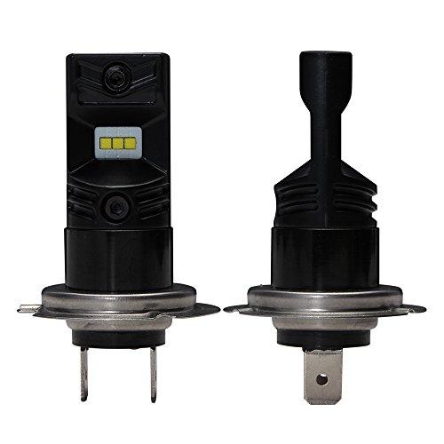 2 Jahre Garantie Vorteile (NIGHTEYE 2 xH7 Auto Fog Lamp Nebelscheinwerfer Weiß,1600LM(800LM Jede Birne), 6500K, DC12-24V Nebellicht mit CSP LED Chips Nebel Glühlampen, 2 Jahre Garantie)