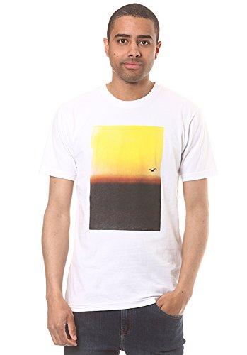 Cleptomanicx Herren T-Shirt Weiß