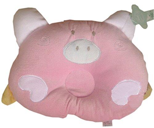 Cochon Comfy Cute Baby Oreillers Prévenir tête plate, Rose