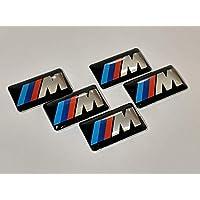 5 Pieces - M-Sport - BMW Badge Decal Emblem Car Sticker Sticker M Sport