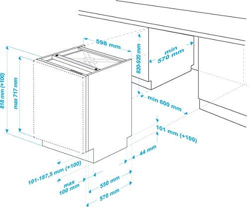 Beko DIN 5930 Vollintegrierbarer Geschirrspüler - 6
