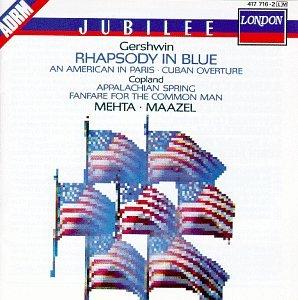 Gershwin/Copland-Maazel/Mehta-Rhapsody in Blue
