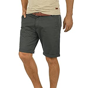 !Solid Montijo Chino Shorts Bermuda Kurze Hose Mit Gürtel Aus Stretch-Material Regular Fit