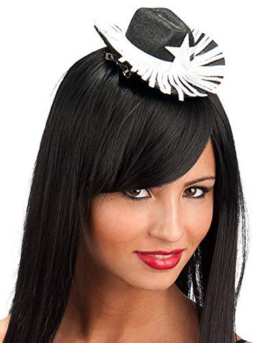 Carnival T. Mini Cowgirl Cap schwarz