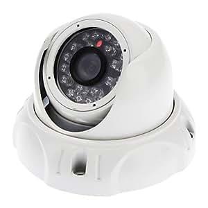 1/4CMOS 420TVL 24LED IR Outdoor Wasserdicht CCTV-Dome-Kamera Nachtsicht