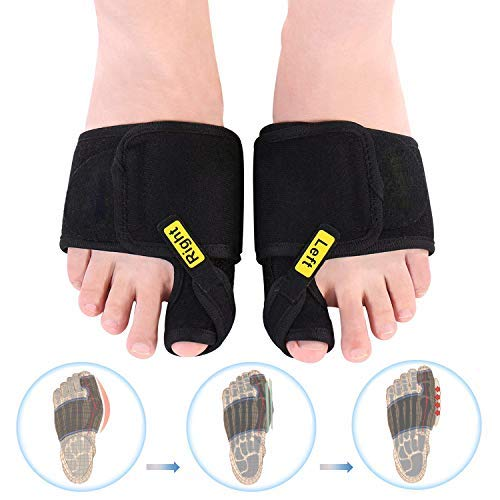 Doact Hallux Valgus Schiene(1 Paar) Hallux valgus Korrektur bandage Hilfe bei Hallux Valgus und Schmerzlinderung, Entzündeten Fußballen Relief für Bedtime - für Herren und Damen -