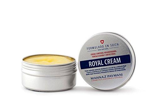 Royal Cream – Crema regeneradora natural. Combate estrías, flacidez y fortalece la epidermis. Con vitaminas, Zinc y Selenio. 100 ml.