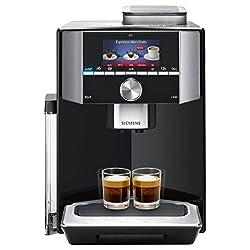Siemens EQ.9 s500 TI915539DE Kaffeevollautomat (1500 Watt, Keramik-mahlwerk, 1 Bohnenbehälter, Großes TFT-Display, Baristamodus, integriertes Milchsystem) klavierlack schwarz